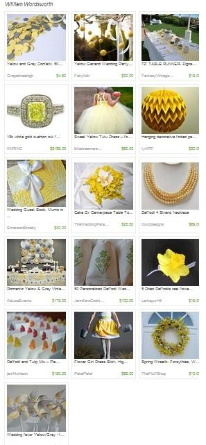 Fluttering Daffodil Wedding @ChautauquaWedding