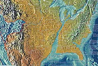Future Maps Of The United States Paperblog - Edgar cayce future us map
