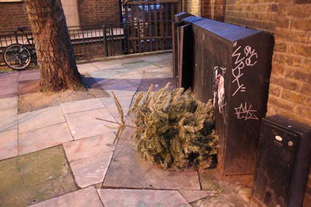 In and Around London... Christmas is SO Over