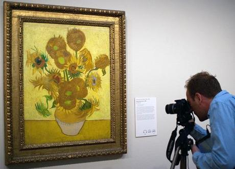 Van Gogh auction, Van Gogh sunflowers, yasoypintor