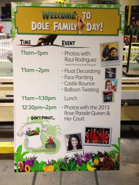 Dole Floats in the 2013 Rose Parade