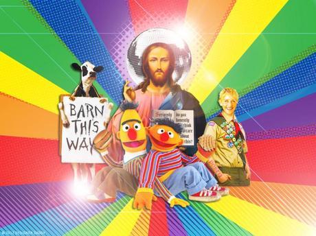 Gays, Muppets, Chicken + Jesus