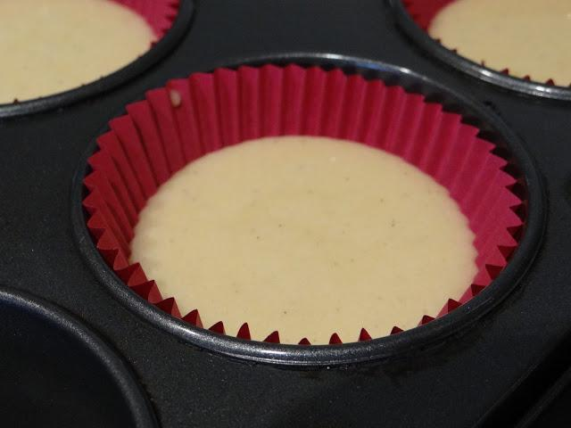 Vanilla Cupcakes with Nutella Chocolate Ganache + 1 month!