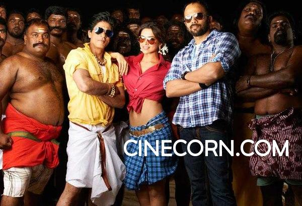 Shahrukh khan chennai express first look photos 1st look on location leaked pics images stills Shahrukh Khans Chennai Express First Look