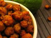 Curry Lime Roasted Chickpeas