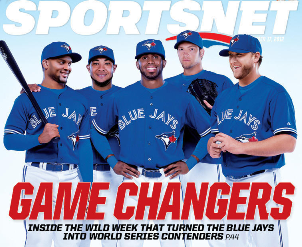 2013 Blue Jays - Sportsnet Magazine Cover
