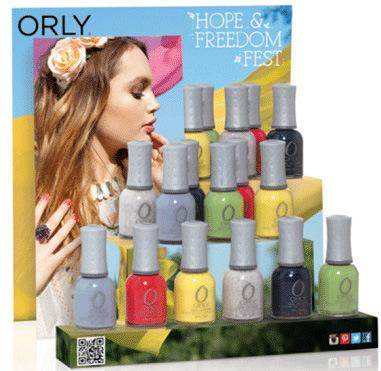 Orly Spring 2013 Hope and  Freedom Collection