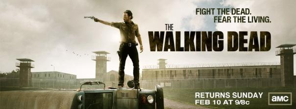The Walking Dead Season 3 Returns Facebook Cover Photo