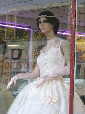 Busted by a Mannequin