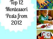 Montessori Posts from 2012