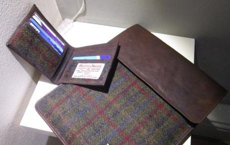 Harris Tweed iPad Case & Matching Harris Tweed Wallet