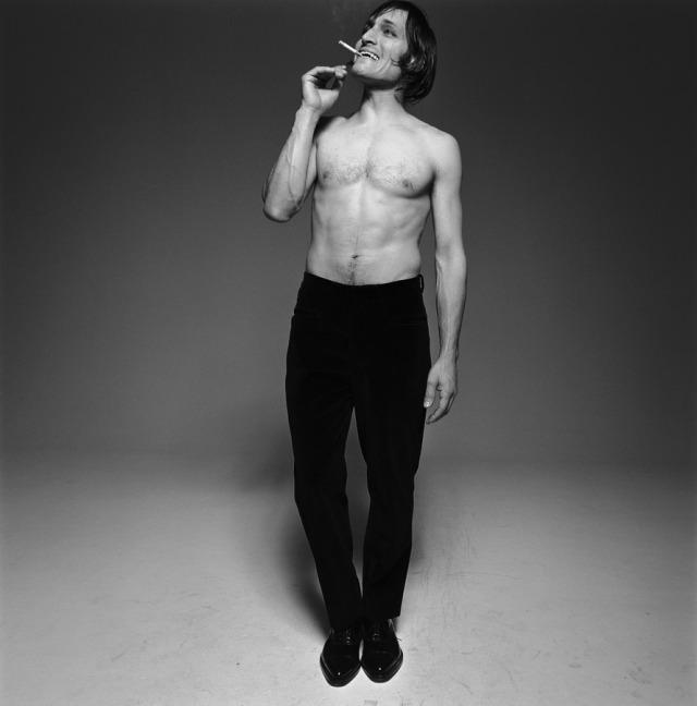 Vincent Gallo Michel Comte Photoshoot 1993-2
