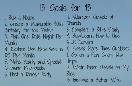 Goals for 2013 650x424 13 Goals for '13