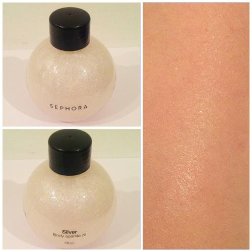 Sephora Body Sparkle Oil