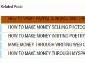 Adding Cool Related Post Widget Your Blogger Blog