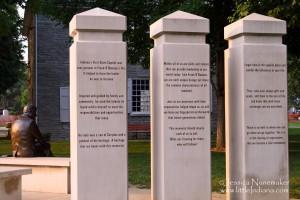 Frank O'Bannon Memorial: Corydon, Indiana