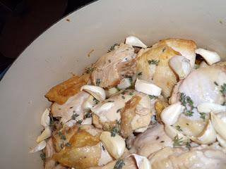 Nigella's Chicken with 40 Cloves of Garlic