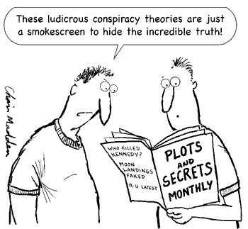 Episode 109, Which Conspiracy Theories Should You Believe?