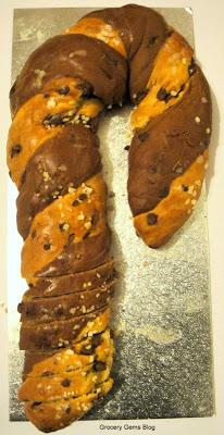 Morrisons Candy Cane Bread