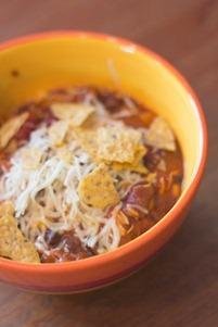 Crockpot Taco Chicken Chili (1 of 9)