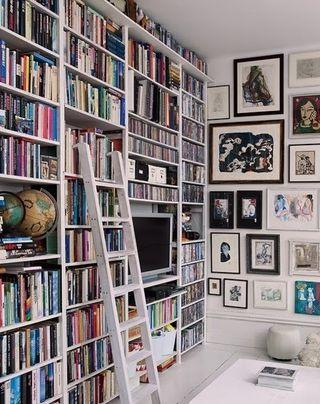 Bookshelveswhite