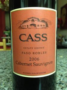A fantastic cabernet...the 2006 Cass Cab. Creamy, rich taste with a soft as velvet finish. Outstanding.
