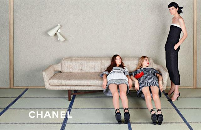 Chanel Spring Campaign 2013 - Japanese Inspired