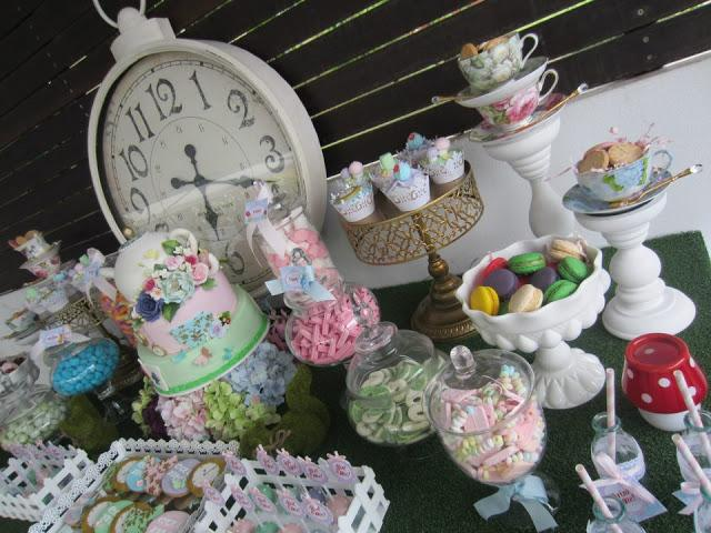 Alice in Wonderland themed party by Cakes by Joanne Charmand