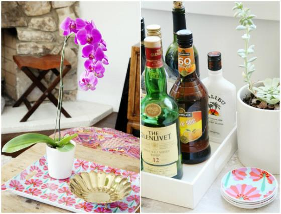 NookAndSea-Amber-Lewis-Glitter-Guide-Style-At-Home-House-Tour-Orchid-Succulent-Flower-Tray-Bar