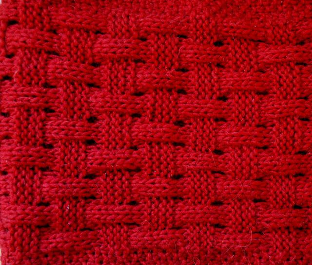 Knitting Basket Weave : Basketweave knitted infinity scarf paper