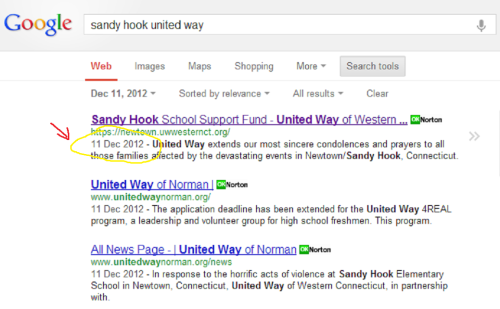 United Way Google