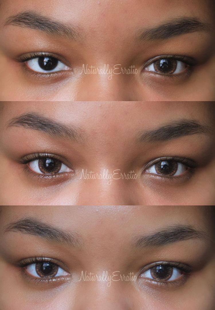 Light Brown Colored Contacts