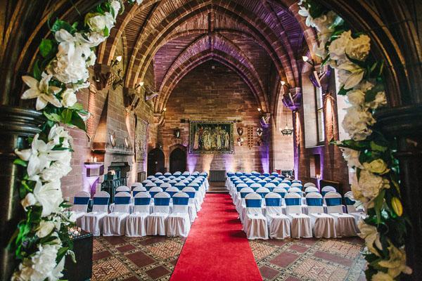 Peckforton Castle Uk Wedding Venue 14