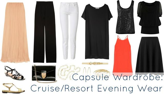 Ask Allie: Capsule Wardrobe for Cruise and Resort Evenings - Paperblog