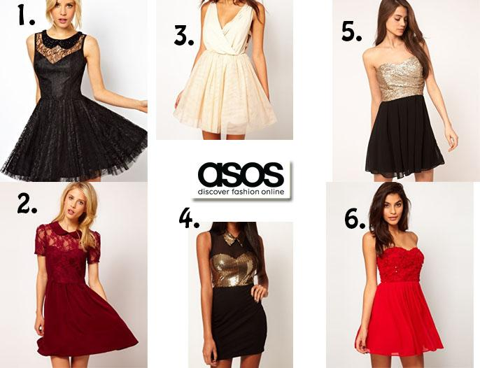 Christmas Party Dress Hunt: ASOS - Paperblog