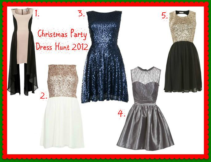 Christmas Party Dress Hunting in New Look - Paperblog