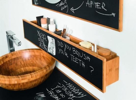 blackboard bathroom furniture by Devon & Devon