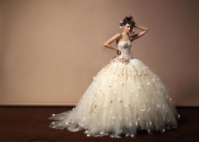 japanese inspired wedding dress