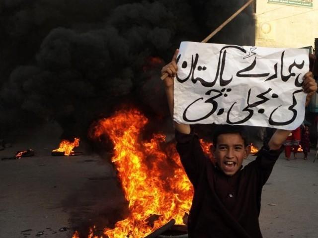 pakistan power shortages