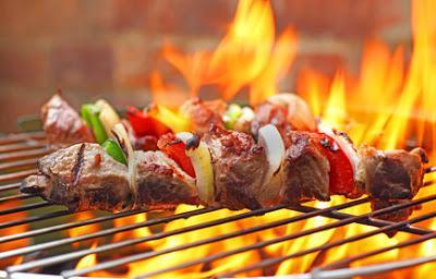 Shish Kebab Grill Shish-kebab Grilling