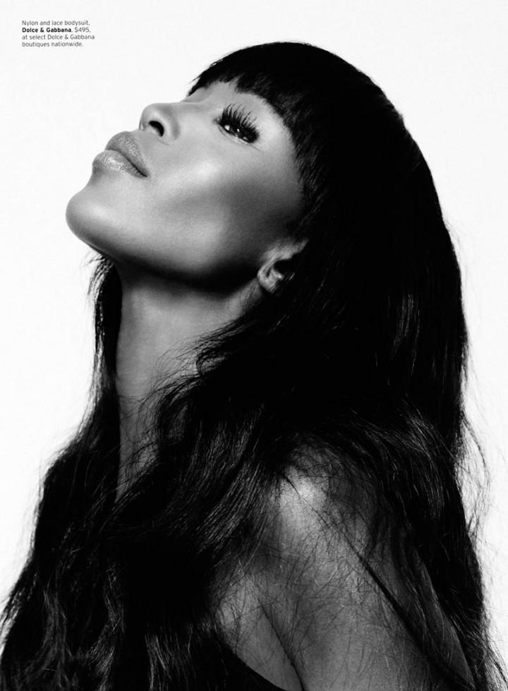 Naomi campbell for elle us february 2013 by thomas - Diva tv srbija ...