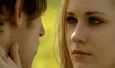 Evan Rachel Wood and Jamie Bell in Wake Me Up When September Ends.