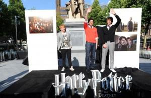 Harry Potter unveiled in Amsterdam square