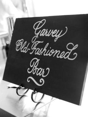 Bar sign via Lucky Orchid Wedding blog