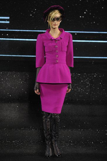 CHANEL HAUTE COUTURE 2011- commentary A Beatifully taillored collection of skirts and jackts...