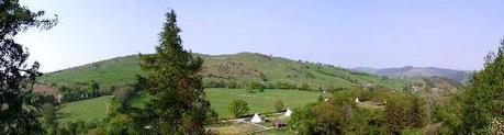 Tipi Camping Wales eco camping wales 2