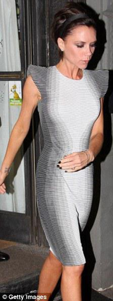 posh spice optical illusion dressYour Best Accessory is Priceless
