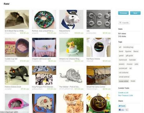 Rat Etsy Treasury