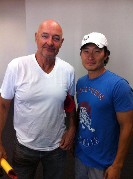 Terry O'Quinn & Daniel Dae Kim reunite and DDK Tweets From Hawaii – Yay! They're Baaaaack!