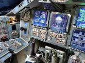 Space Shuttle Disvocery Flight Deck